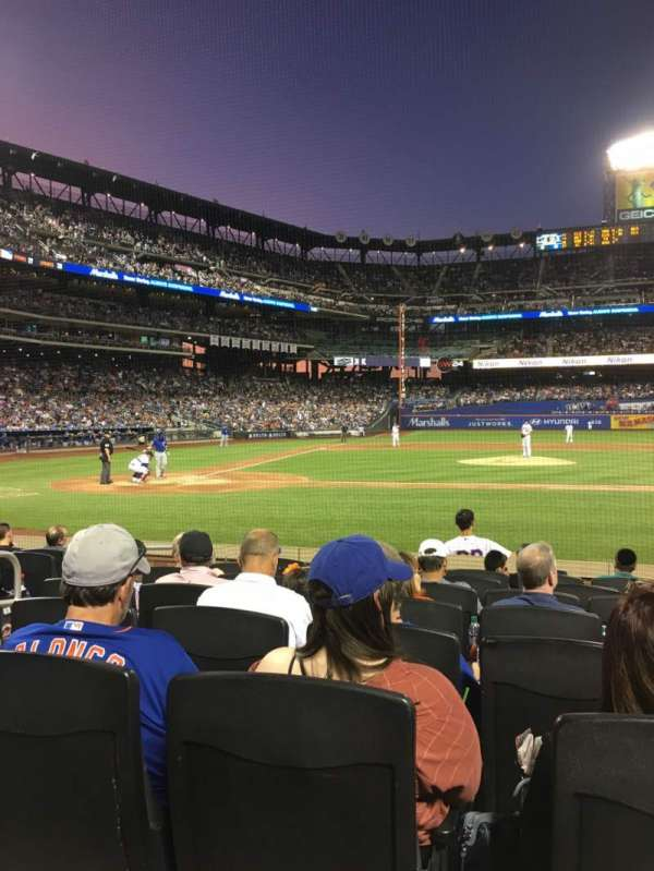 Citi Field, section: 11, row: 8, seat: 5