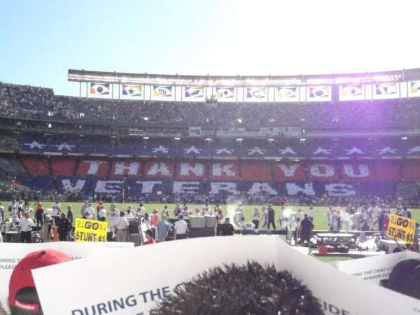 San Diego Stadium, section: F6, row: 9, seat: 9