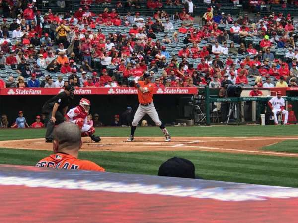 Angel Stadium, section: F125, row: C, seat: 12