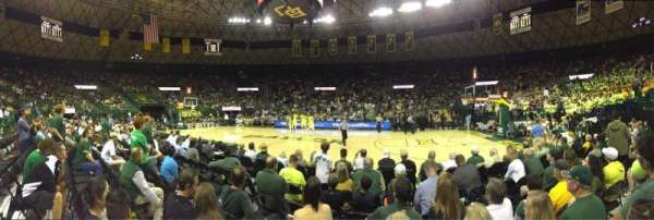 Ferrell Center, section: 123, row: F