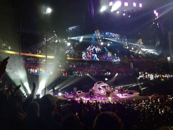 Bridgestone Arena, section: 115, row: JJ, seat: 12
