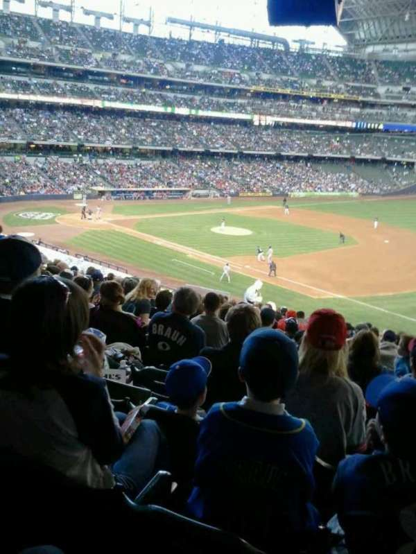 American Family Field, section: 111, row: 25, seat: 18