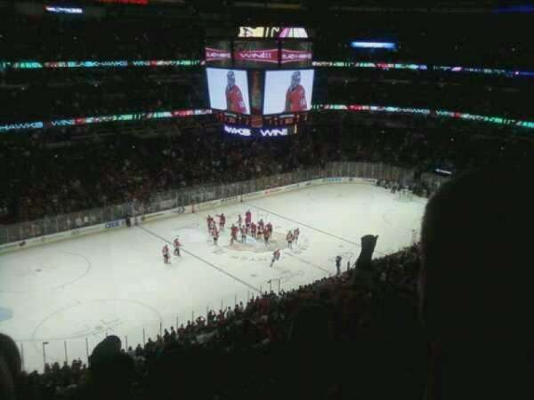 United Center, section: 304, row: 13, seat: 4