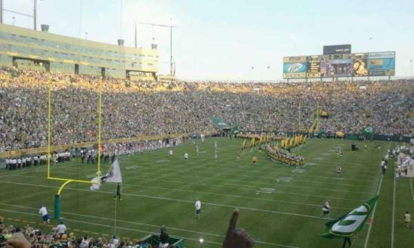 Lambeau Field, section: 104