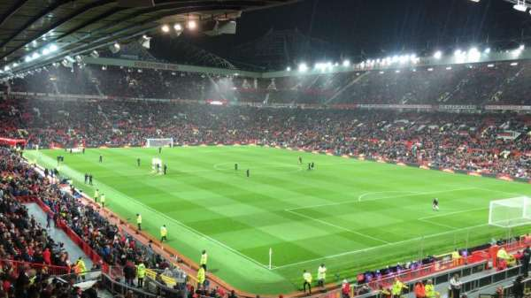 Old Trafford, section: E231, row: 25, seat: 40