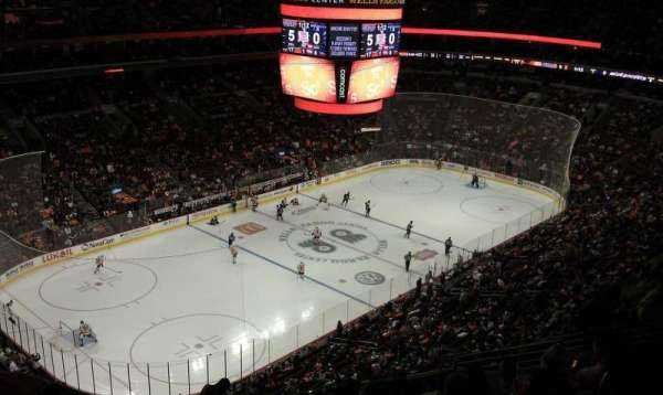 Wells Fargo Center, section: 210, row: 14, seat: 7