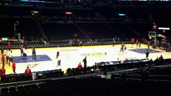 Staples Center, section: 102, row: 20, seat: 17