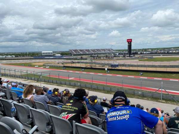 Circuit of the Americas, section: 25, row: 24, seat: 8