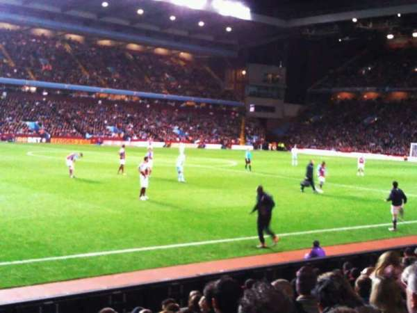 Villa Park, section: trinity road lower c7, row: 11, seat: 209