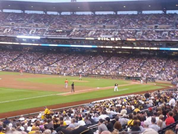 PNC Park, section: 127, row: BB, seat: 12