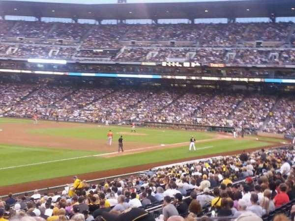 PNC Park, section: 127, row: BB, seat: 12