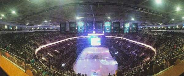 SAP Center, section: Penthouse, row: N/a, seat: 9