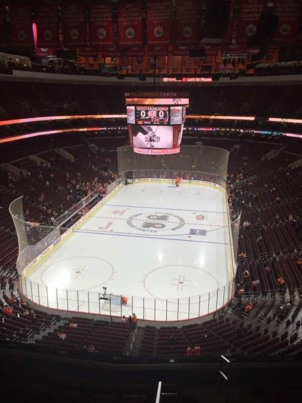 Wells Fargo Center, section: 207A, row: 8 , seat: 18