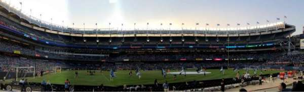 Yankee Stadium, section: 105, row: 4, seat: 12