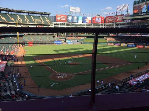Globe Life Park in Arlington, section: 228, row: 1, seat: 6