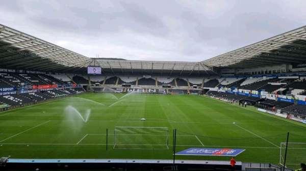 Liberty Stadium, section: North Upper 5, row: S, seat: 98