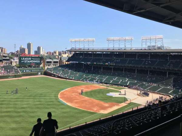Wrigley Field, section: 505, row: 1, seat: 7