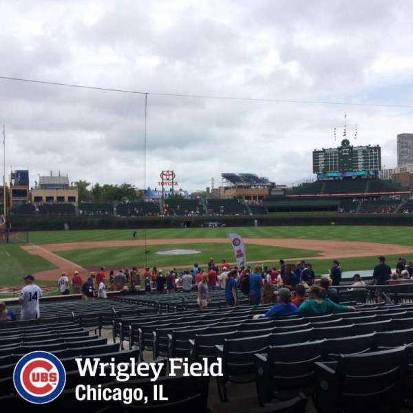 Wrigley Field, section: 123, row: 13, seat: 101