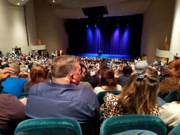 Ruth Eckerd Hall, section: Portal 12, row: FF, seat: 20