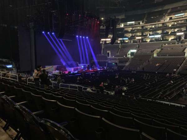 Staples Center, section: 111, row: 18, seat: 3