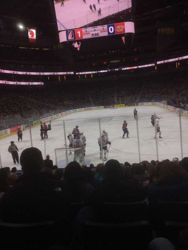 Rogers Place, section: 110, row: 12, seat: 10