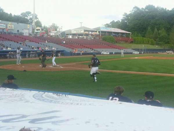 Dodd Stadium, section: 6, row: B, seat: 10