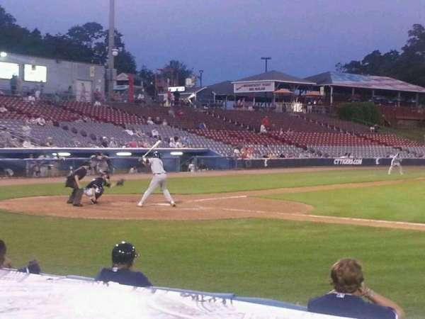 Dodd Stadium, section: 6, row: B, seat: 10