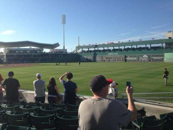JetBlue Park, section: 119, row: 10, seat: 10