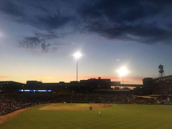 Durham Bulls Athletic Park, section: 128, row: S, seat: 6