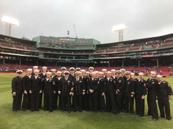 Fenway Park, section: Field