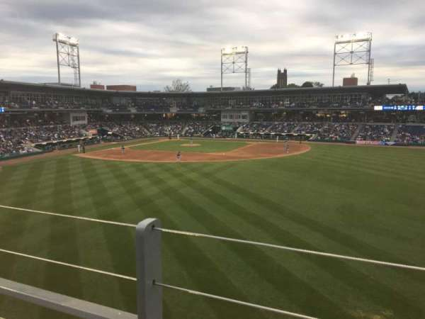 Dunkin' Donuts Park, section: 226, row: A, seat: 9