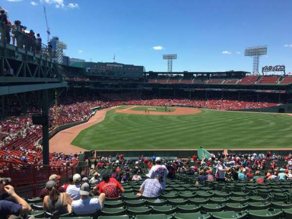 Fenway Park Section Bleacher 43 Home