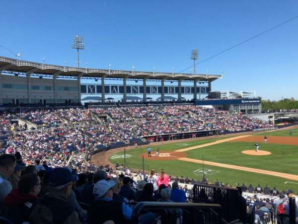 George M. Steinbrenner Field, section: 205, row: I, seat: 19