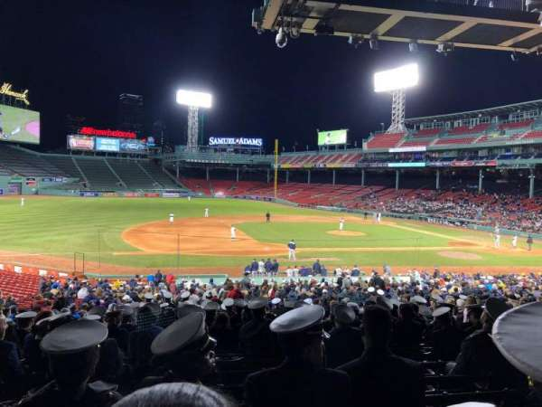 Fenway Park, section: Loge Box 153, row: DD, seat: 5