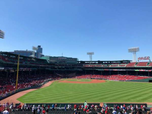 Fenway Park, section: Bleacher 42, row: 45, seat: 11