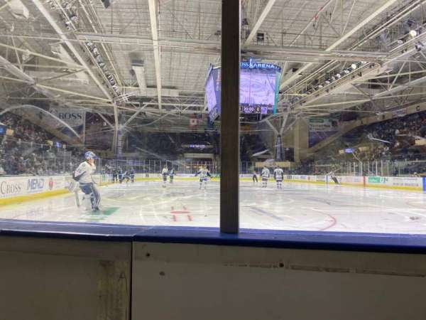 Cross Insurance Arena, section: O, row: 1, seat: 7