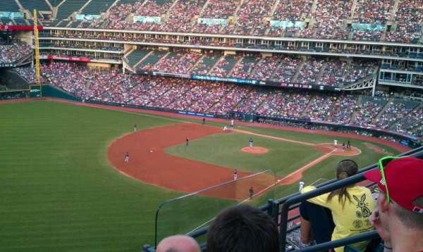 Progressive Field, section: 476, row: C, seat: 4