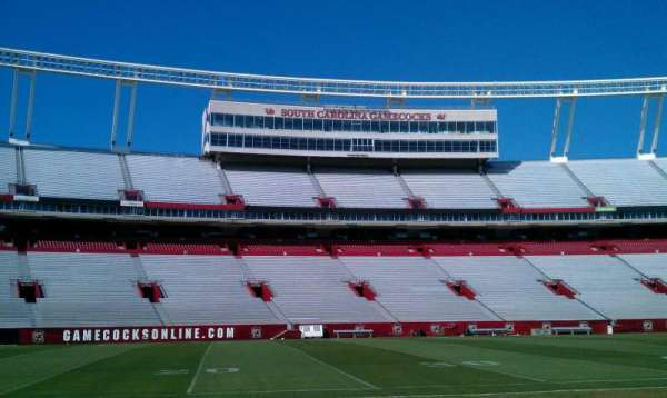 Williams-Brice Stadium, section: 20, row: A2, seat: 10