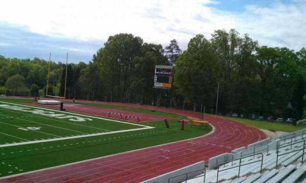 Richardson Stadium, section: 105, row: 18, seat: 10