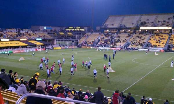 Mapfre Stadium, section: 105, row: 19, seat: 18