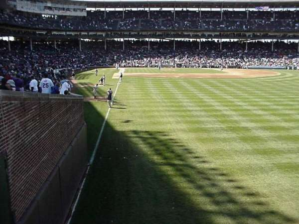 Wrigley Field, section: 518