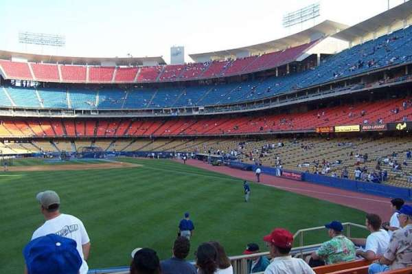 Dodger Stadium, section: 303PL, row: G, seat: 106