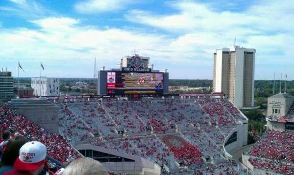 Ohio Stadium, section: 18C, row: 41, seat: 31