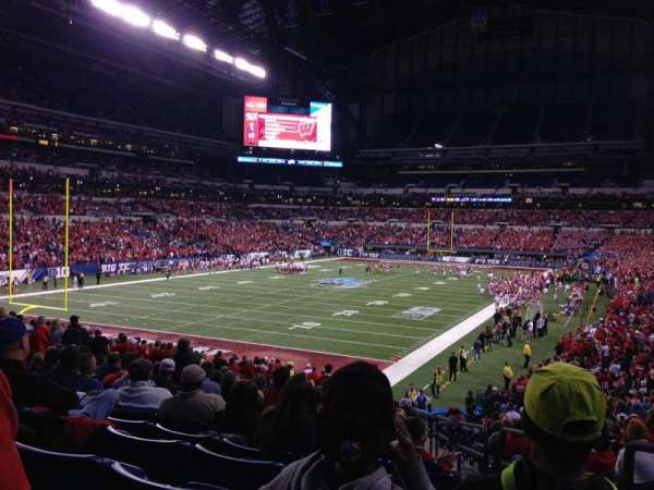 Lucas Oil Stadium, section: 151, row: 31, seat: 2