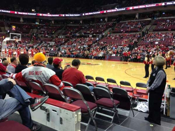Value City Arena, section: 104, row: E, seat: 21