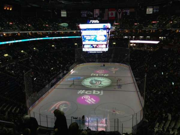 Nationwide Arena, section: 223, row: G, seat: 16