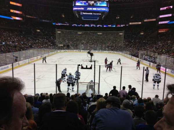 Nationwide Arena, section: 109, row: P, seat: 9