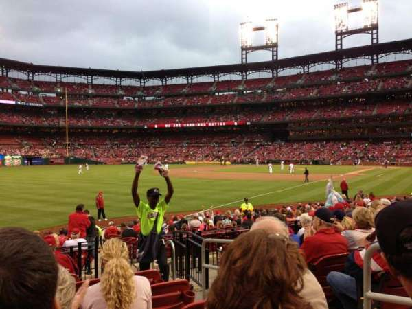 Busch Stadium, section: 166, row: 9, seat: 3