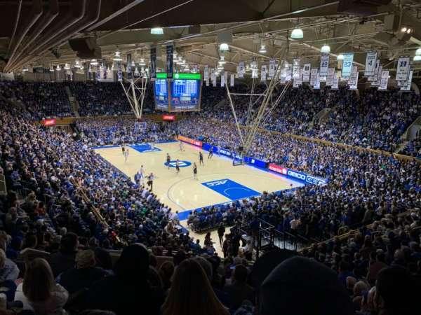 Cameron Indoor Stadium, section: 9, row: O, seat: 11