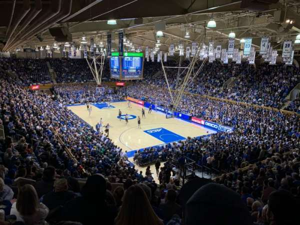 Cameron Indoor Stadium, section: 9, row: O, seat: 11